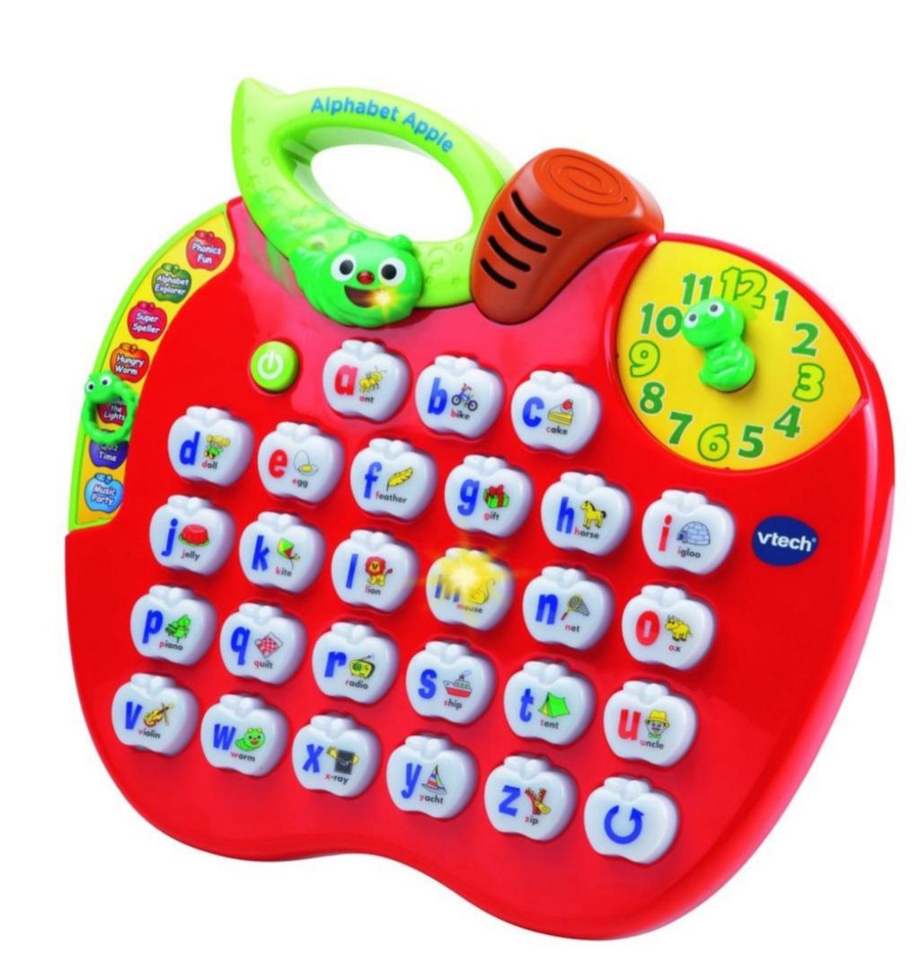 VTech Interactive Learning Alphabet Apple