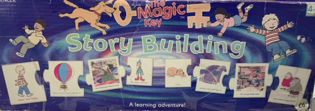 The Magic Key Story Building Puzzle
