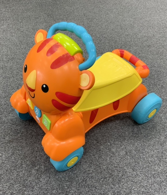 Fisher Price Stride to Ride Learning Tiger photo