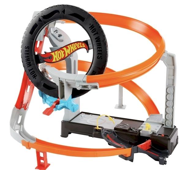Hot Wheels City vs Robo Beasts Hyper-Boost Tire Shop