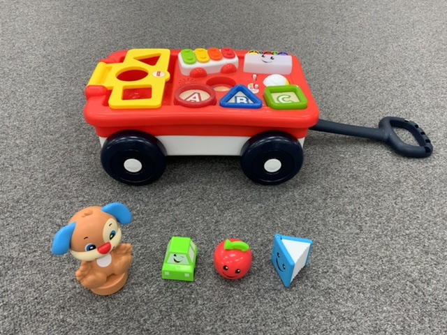 Pull Along Toy with Shapes and Music